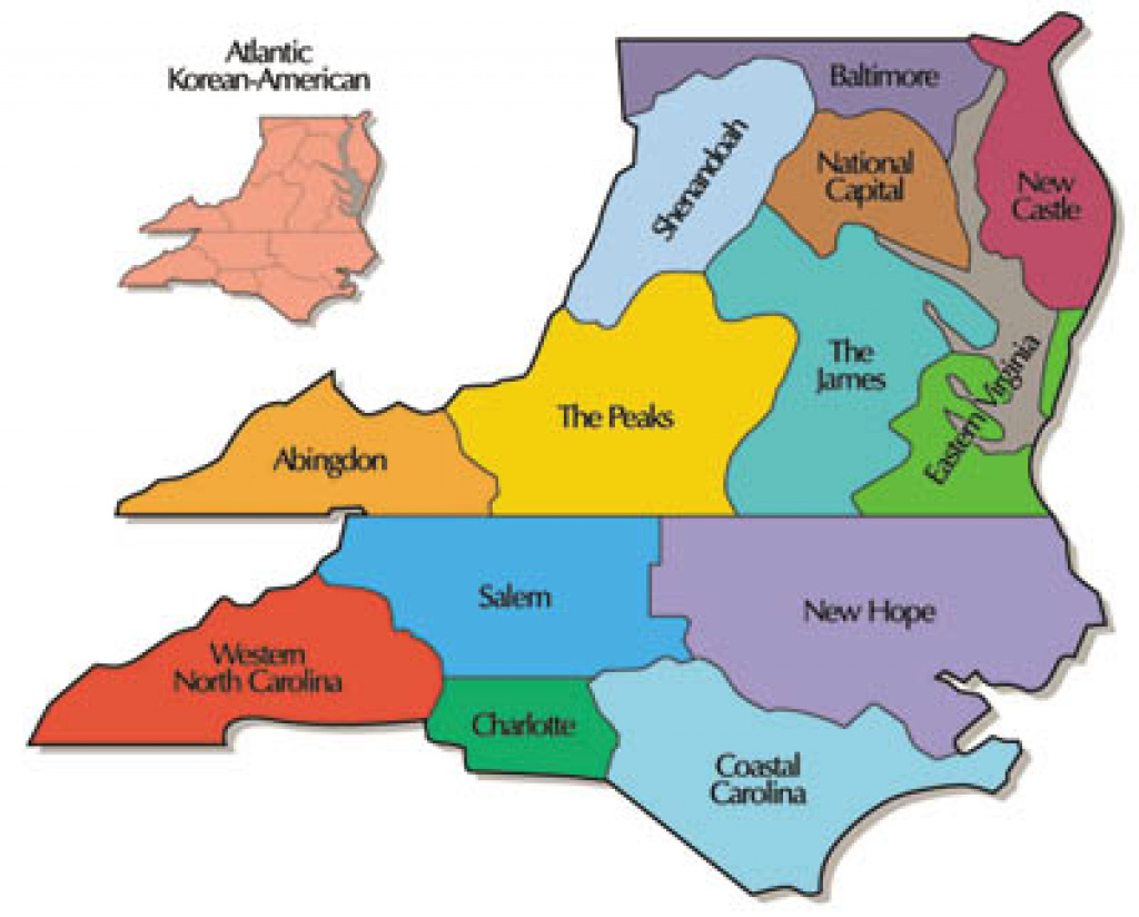 Our Region :: Synod Of The Mid-Atlantic for Mid Atlantic States And Capitals Map