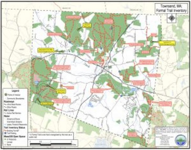 Townsend State Forest Trail Map