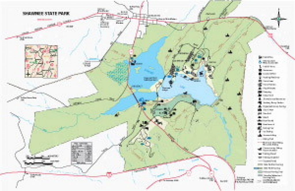 Pa Dcnr - Ricketts Glen State Park within Pennsylvania State Parks Camping Map