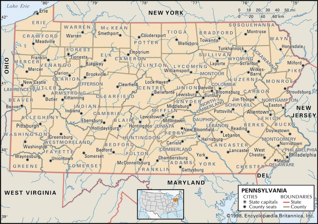 Pa Maps | Aeropilatesleon regarding Road Map Of New York State And Pennsylvania