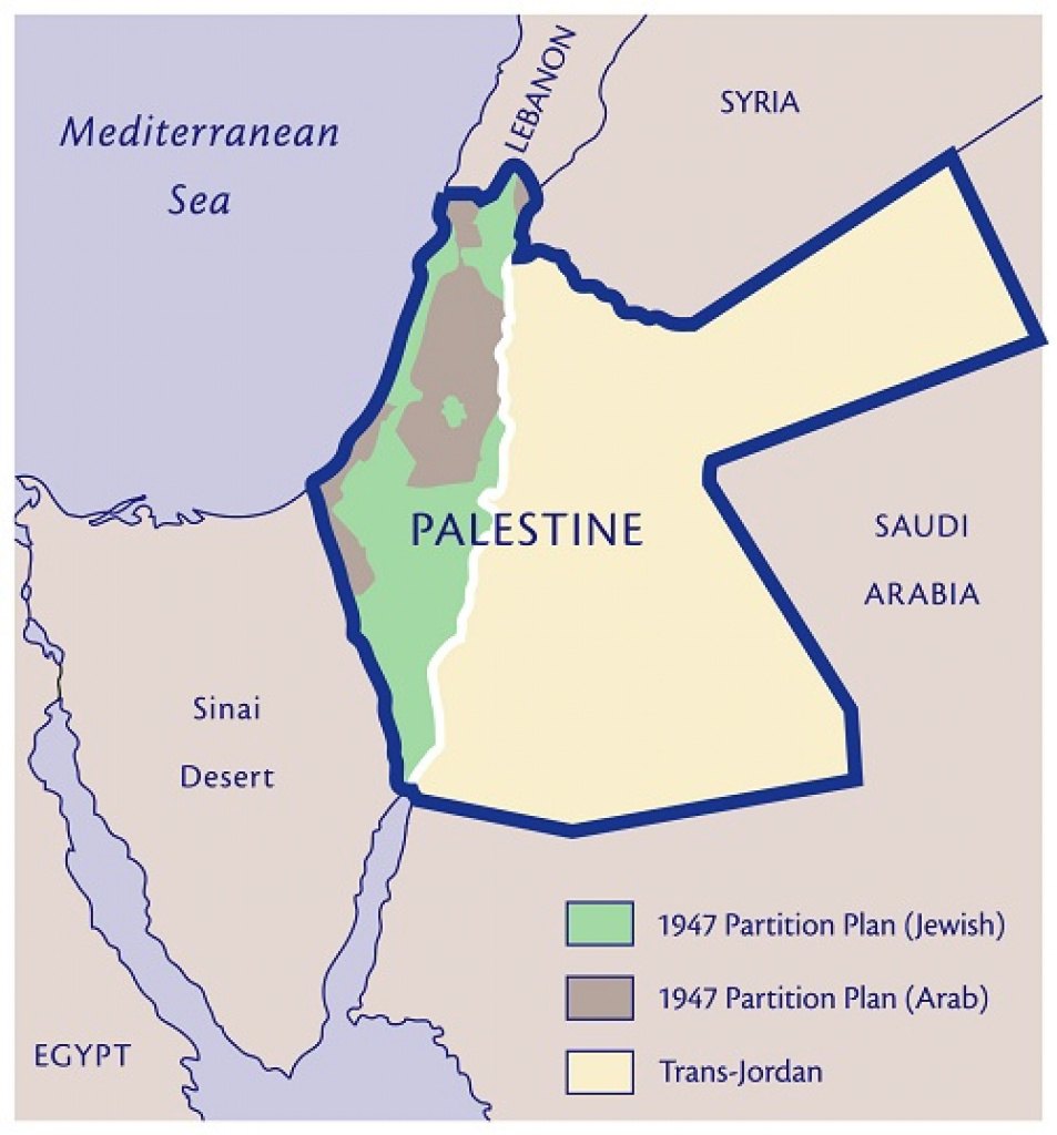 Palestine: One Or Two State Solution throughout Palestine Two State Solution Map