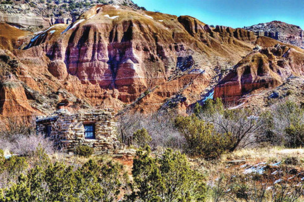 Palo Duro Canyon State Park intended for Palo Duro Canyon State Park Trail Map