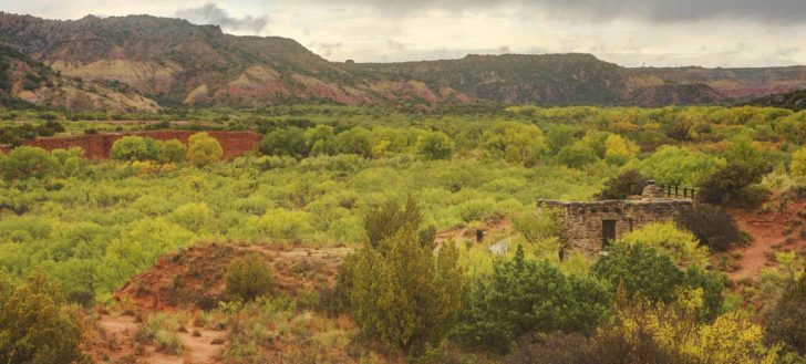 Palo Duro Canyon State Park Trail Map