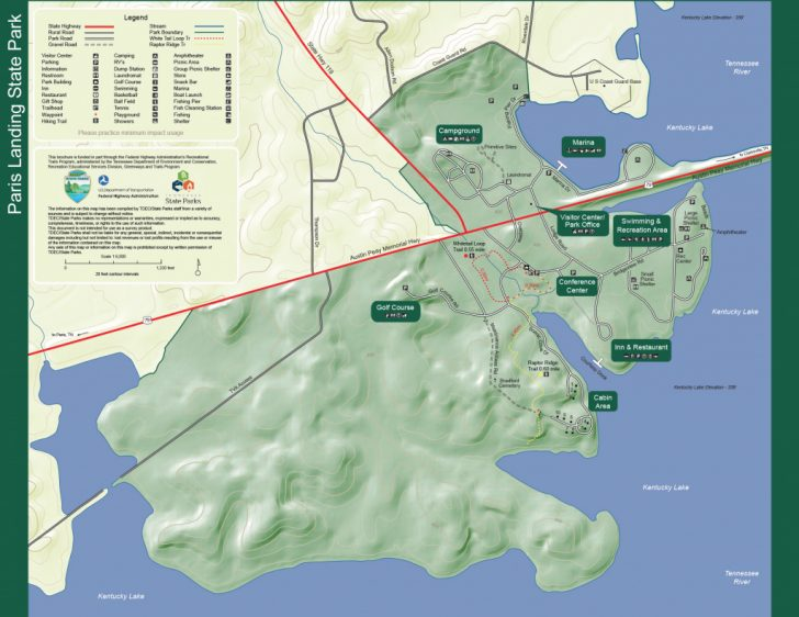 Paris Mountain State Park Trail Map