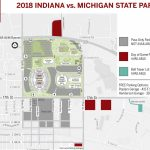 Parking Availability For Indiana Michigan State   Indiana Intended For Michigan State Football Parking Lot Map