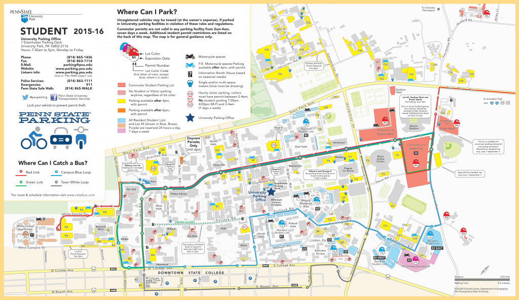 Parking | International Student Orientation Blog in Penn State Football Parking Map 2017