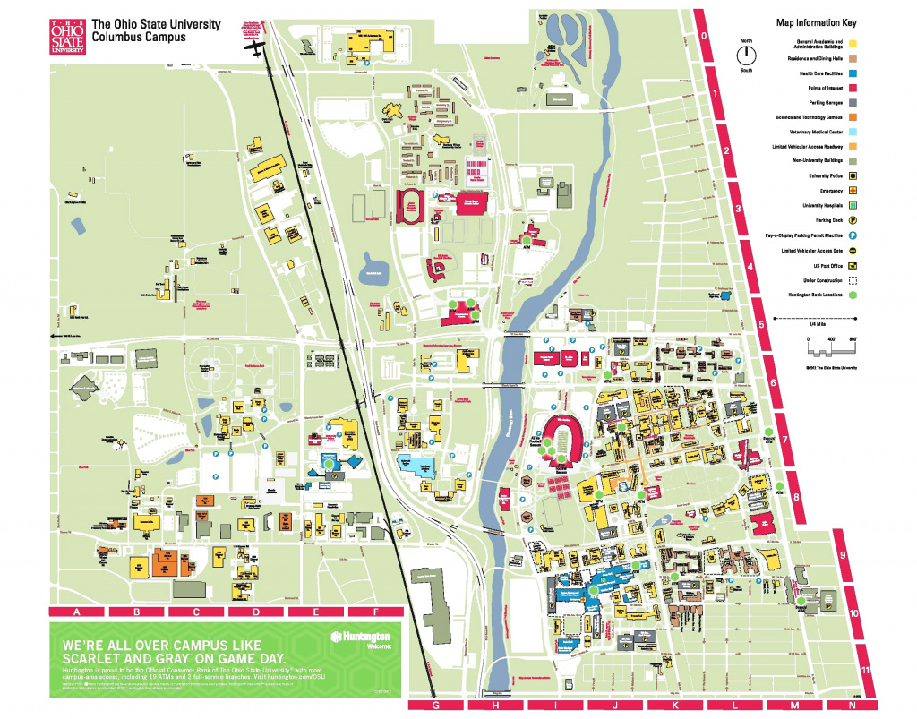 Parking Map And Transportation Services Unbelievable Of Ohio State throughout Ohio State Parking Map