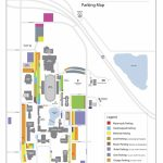 Parking Map   Campus Map | Emporia State University Within Wichita State Parking Map