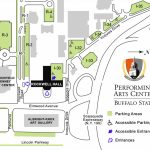 Parking > Visit > Performing Arts Center   Buffalo State Regarding Buffalo State College Parking Map