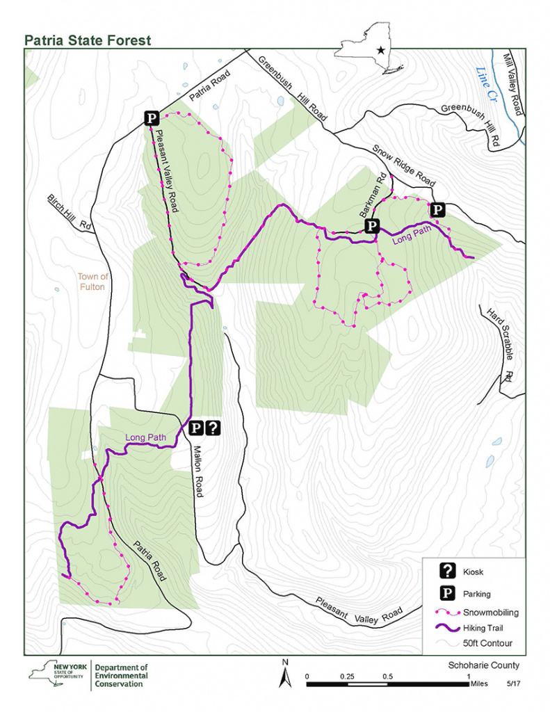 Patria State Forest Map - Nys Dept. Of Environmental Conservation for New York State Forests Map
