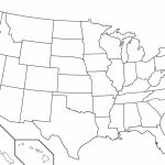 Pdf Printable Us States Map Maps Of The United In Blank Usa 50 Print Intended For 50 States Map Pdf