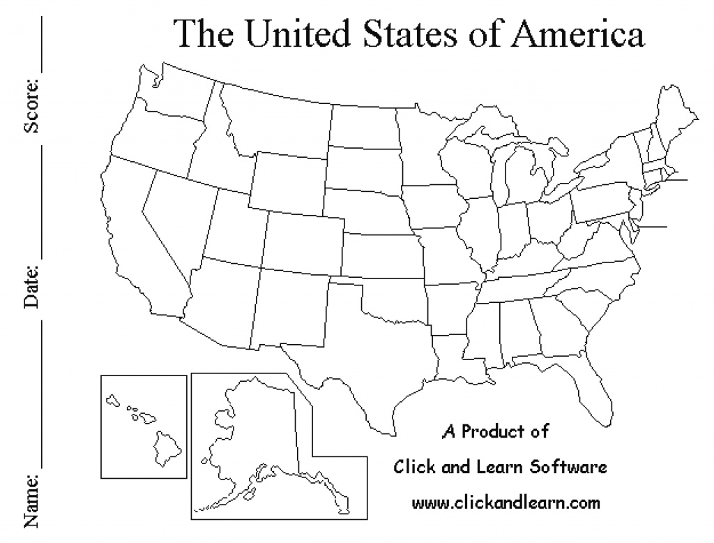 Pdf Printable Us States Map Us States Map Blank Pdf Large Printable in Blank State Map Pdf