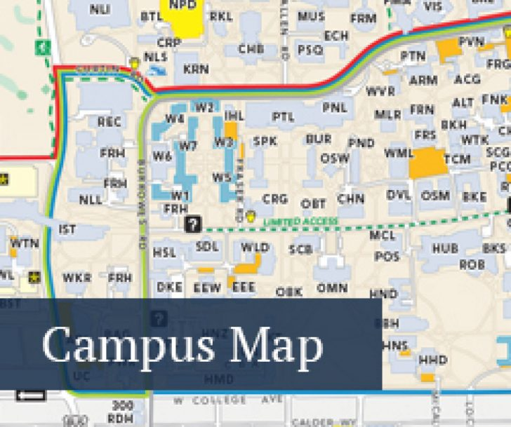 Penn State University Park Campus Map