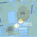 Penn State Museum   Visitor Info   Penn State University Regarding Penn State Football Parking Green Lot Map