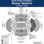 Penn State Seating Chart – Ceriunicaasl for Penn State Football Stadium Seating Map With Rows