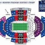 Penn State Vs Iowa Football Tickets   Oct 27Th   2 Tickets   Ebay For Penn State Football Stadium Seating Map With Rows
