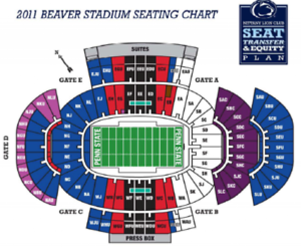 Penn State Vs Iowa Football Tickets - Oct 27Th - 2 Tickets | Ebay for Penn State Football Stadium Seating Map With Rows