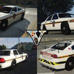 Pennsylvania State Police Cvpi And Charger Textures   Gta5 Mods Throughout Pa State Police Barracks Map