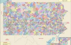 Pennsylvania Zip Code Map | #worldmapstore | Pinterest | Zip Code in Washington State Zip Code Map