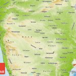 Physical Map Of Maharashtra Regarding Physical Map Of Maharashtra State