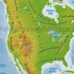 Physical Map Of United States And Canada Pdf | N3X Intended For United States And Canada Physical Map