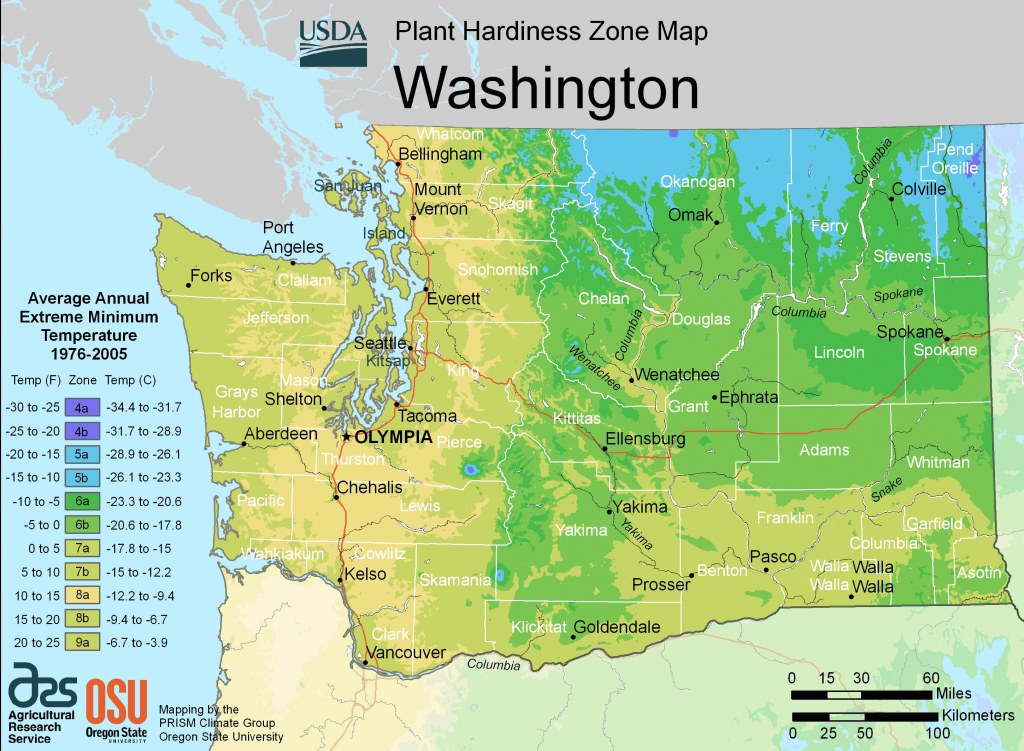 Physical Maps Of Nicaragua Inspirational Map Washington State And intended for Physical Map Of Washington State