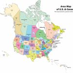Physiographic Map Of United States Save Us And Canada Physical Map Pertaining To United States And Canada Physical Map