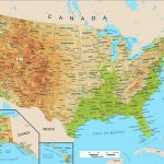 Physiographic Map Of United States Valid Blank Physical Features Map Within Physiographic Map Of The United States