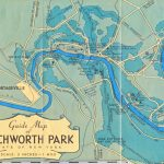Pieces Of The Past In Letchworth State Park Trail Map