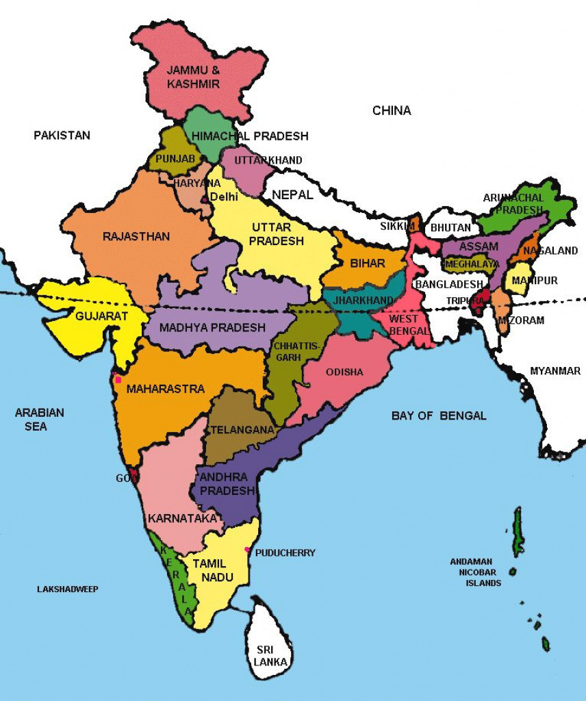 Pin4Khd On Map Of India With States | Pinterest | India, India for India Map With States And Capitals