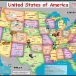 Placemutts® Usa Placemat Map For Kids « Jimapco Intended For State Map For Kids