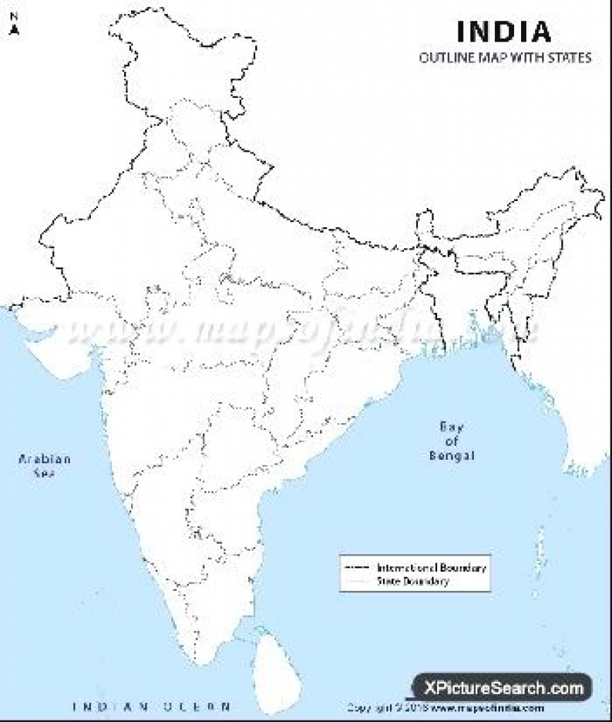 Political And Physical Map Of India Outline Pdf – Peterbilt throughout India Blank Map With States Pdf