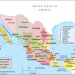 Political Map Of Mexico (Mapa Del Estado De Mexico)| Mexico States Map With Regard To Map Of Mexico And Its States