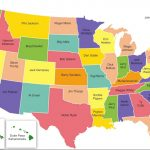 Political Map Of The United States 3 | Whatsanswer Regarding United States Political Map