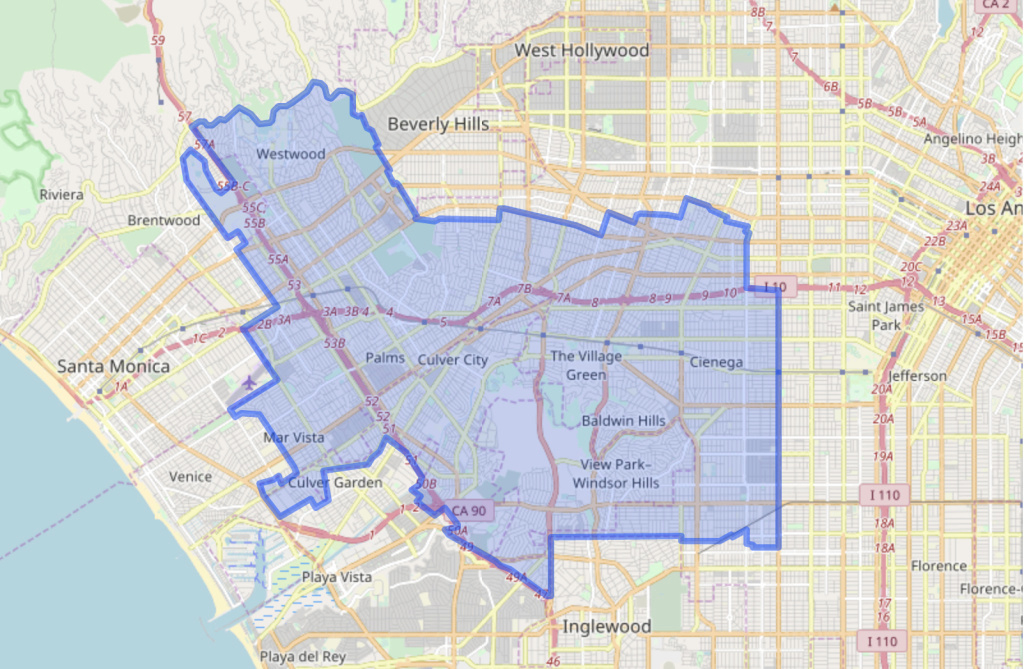 Preliminary Results In The Special Election For State Assembly within California State Assembly District Map