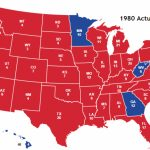 Presidential Election Of 1980 Inside 1980 Presidential Election Results By State Map