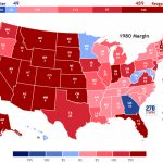 Presidential Election Of 1980 With Regard To 1980 Presidential Election Results By State Map