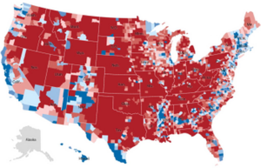 Presidential Election Results: Donald J. Trump Wins – Election for Map Of States Trump Won