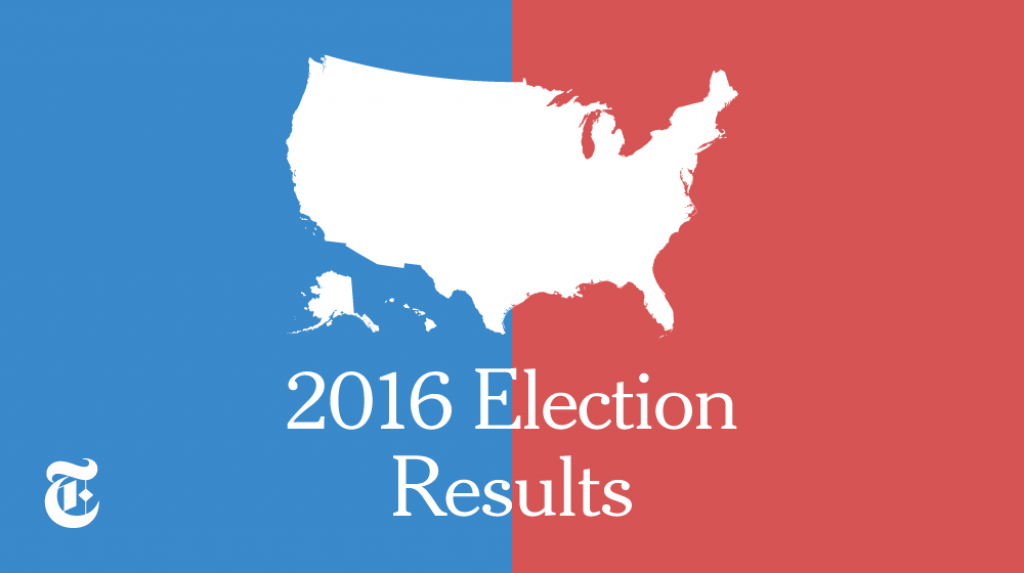 Presidential Election Results: Donald J. Trump Wins – Election regarding Map Of States Trump Won