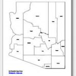 Printable Arizona Maps | State Outline, County, Cities In Arizona State Map Outline