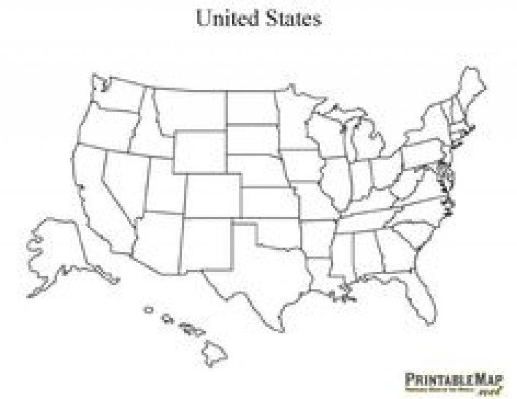 Printable Blank Map Of America - Been Looking For A Cartoony Outline throughout Map Of The United States That You Can Fill In