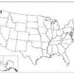 Printable Blank Map Of Us   Bino.9Terrains.co Within Blank State Map