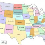 Printable Map Of Usa Pertaining To Printable Map Of The United States