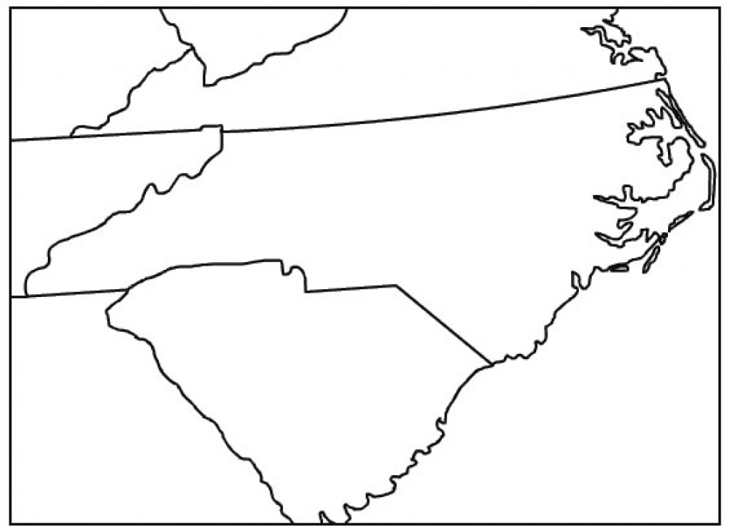 Printable State Outline Maps « inside State Outline Map