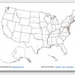 Printable United States Maps | Outline And Capitals Inside Printable Usa Map With States And Cities