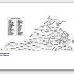 Printable Virginia Maps | State Outline, County, Cities Within Virginia State Map Printable