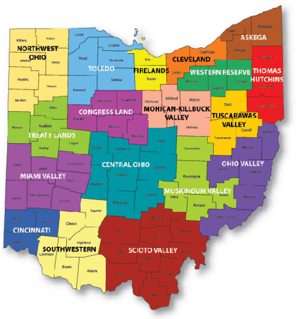Professional Land Surveyors Of Ohio in State Of Ohio County Map Pdf