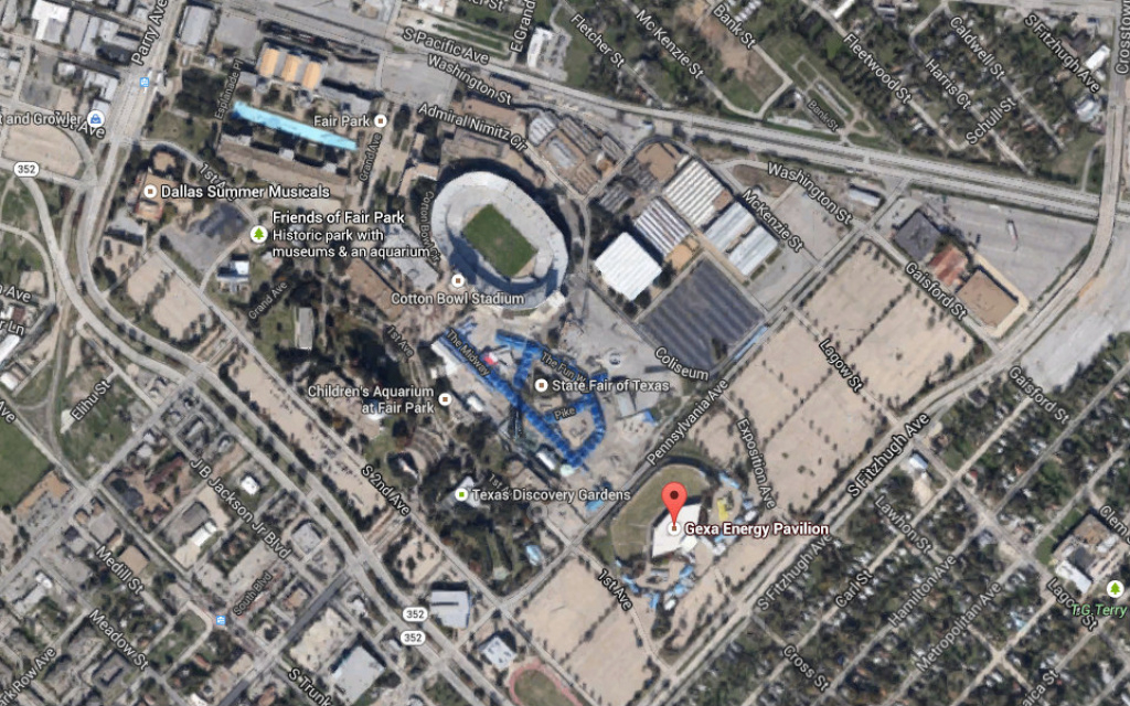 Proposal Calls For A Radical Redo Of Fair Park -- And The State Fair within Texas State Fair Map Pdf