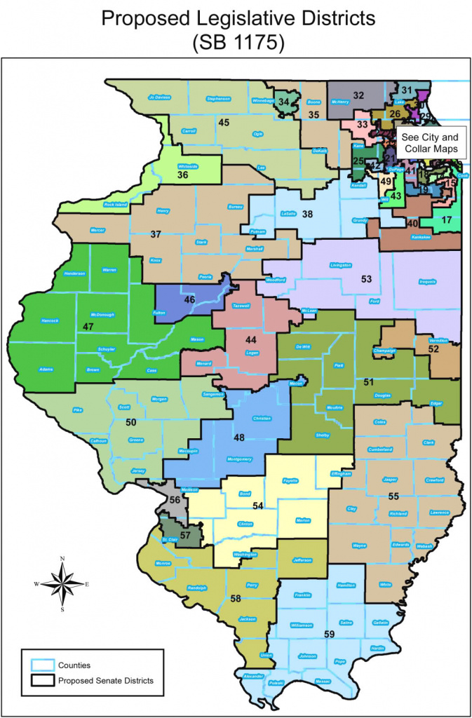 Proposed Illinois General Assembly Redistricted Maps | Wcrcc regarding Illinois State Representative District Map