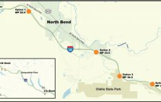 Proposed Weigh Station Move Prompts North Bend Town Hall Meeting with Washington State Milepost Map